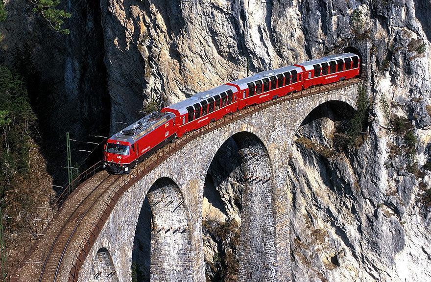 10 مسیر قطار در اروپا