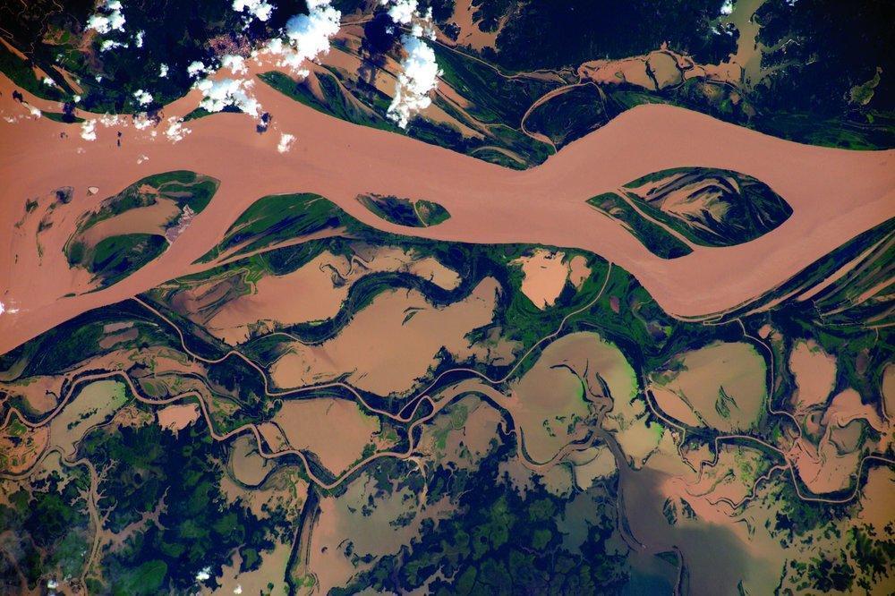 تصاویر خیره کننده از زمین، گرفته شده توسط فضانورد اروپایی