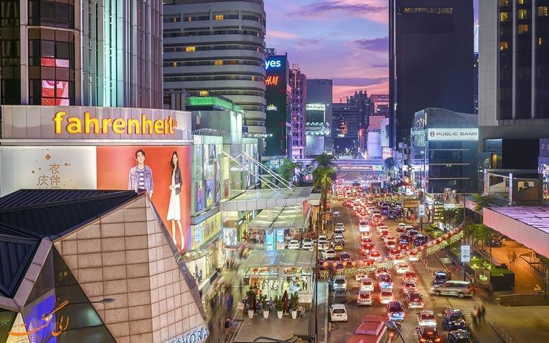 منطقه بوکیت بینتانگ کوالالامپور؛ محله ای پر از جاذبه!