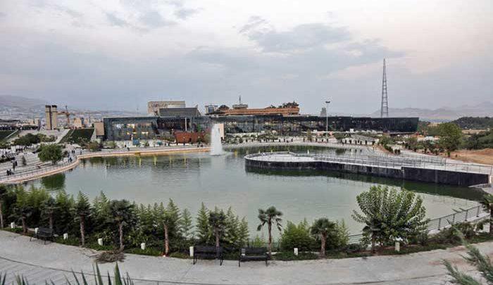 یک دریاچه جدید برای تهرانی ها؛ باغ هنر تهران امروز افتتاح می شود