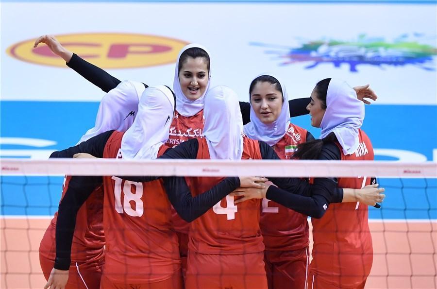 مونا آشفته امتیاز آورترین بازیکن تیم ملی والیبال ایران برابر اندونزی
