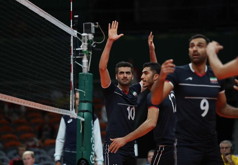 تغییر ساعت ملاقات والیبال ایران - ایتالیا در یک چهارم نهایی المپیک