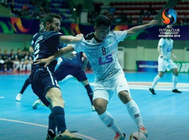 سومی نماینده لبنان در مسابقات باشگاهی فوتسال آسیا