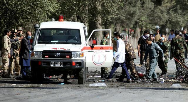 انفجار خودروی بمب گذاری شده در نزدیکی پایگاه بگرام در کابل