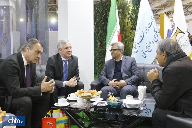 ملاقات معاون گردشگری کشور با رئیس کنفدراسیون آژانس های گردشگری اسپانیا