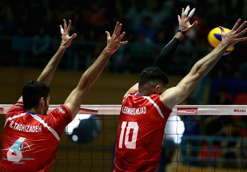 اعلام برنامه مرحله مقدماتی مسابقات والیبال قهرمانی مردان آسیا