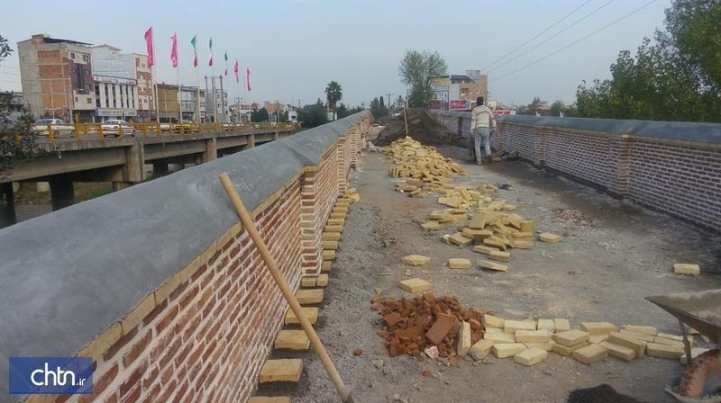 مرمت پل تاریخی محمدحسن خان بابل با اعتباری بالغ بر 1، 3میلیارد ریال
