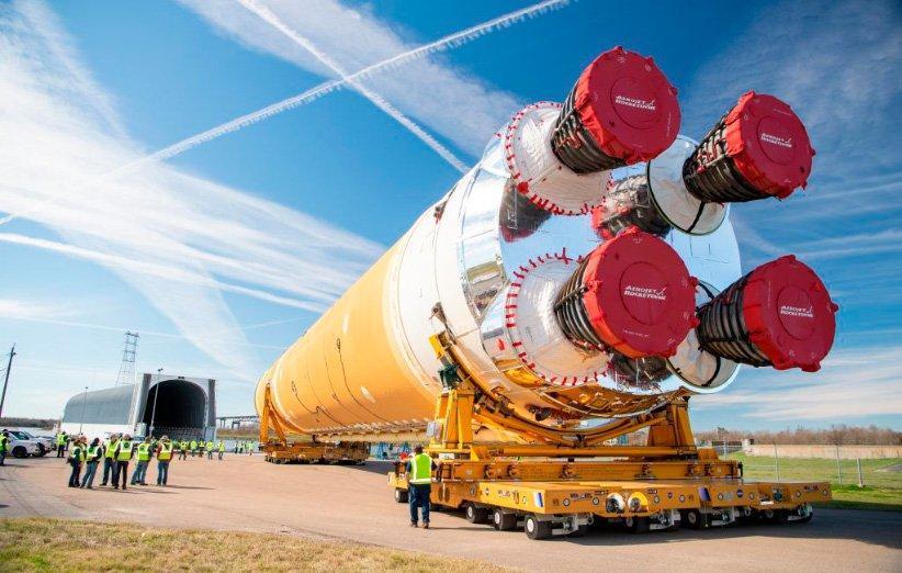کرونا مراکز ساخت سامانه پرتاب فضایی و فضاپیمای اوریون را به تعطیلی کشاند
