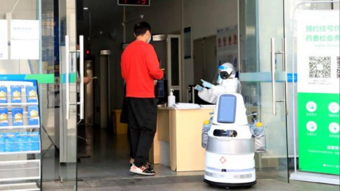 روبات ها، تجهیزاتی امن برای یاری رسانی در بحران کرونا