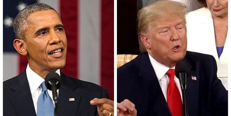 ترامپ: اوباما باید به خاطر ارتکاب جرائم سیاسی در کنگره شهادت دهد