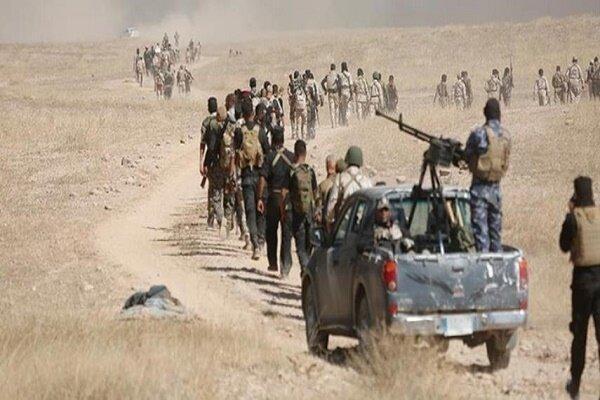 درگیری نیروهای حشدشعبی عراق با داعش در استان دیالی