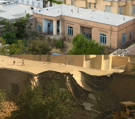 خانه پدر سنتور ایران در نیشابور تخریب شد