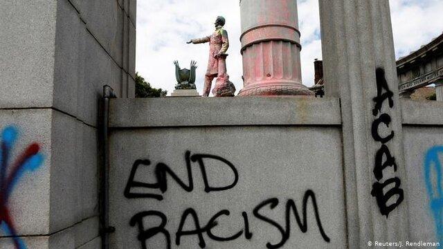 مجسمه های سنگی، میراث فرهنگی و بحث نژادپرستی در آمریکا
