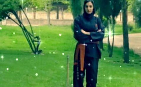 دانشجوی دانشگاه آزاد اسلامی نایب قهرمان مسابقات کشوری سلاح سرد شد