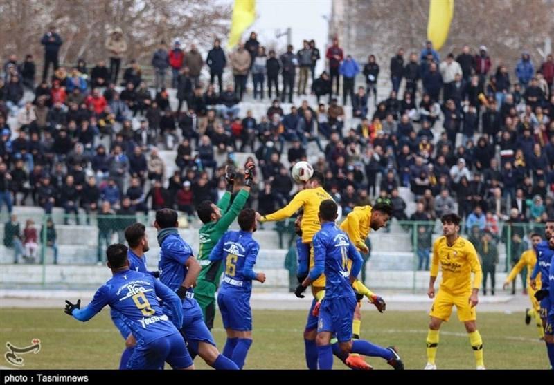 لیگ دسته اول فوتبال، آبی های خوزستانی جای بادران را در جدول گرفتند، فاصله یک امتیازی علم و ادب با سقوط