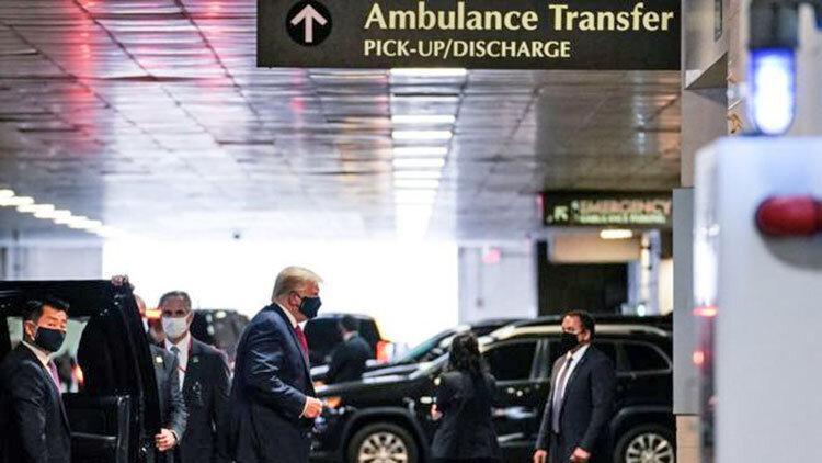 دیدار برادر بیمار در نیویورک ، ترامپ از بیمارستان به باشگاه گلف رفت