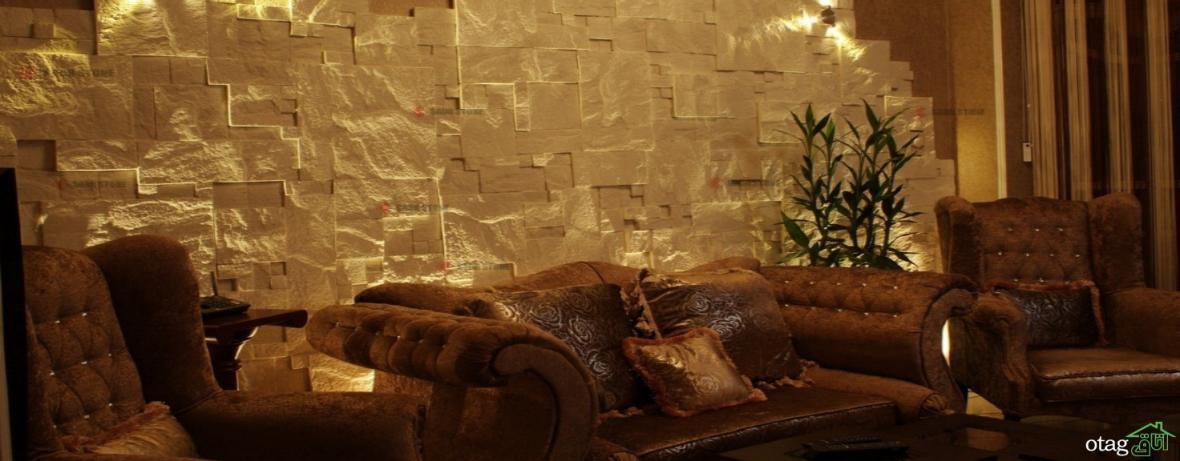 32 مدل جدید و شیک سنگ آنتیک در دکوراسیون داخلی منزل [در سال جدید]