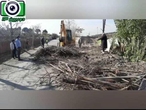 تخریب 25 مورد ساخت و ساز غیرمجاز