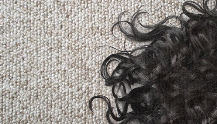 هرچی مو روی فرش هست را جمع کنید