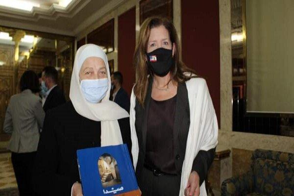 پرسه زنی سفیر آمریکا در لبنان در شهر صیدا