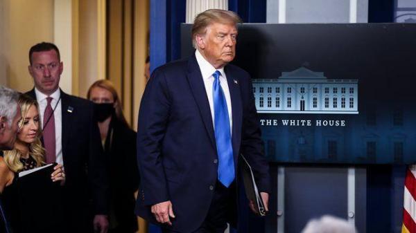 ترامپ به راحتی از قدرت کناره گیری نمی کند