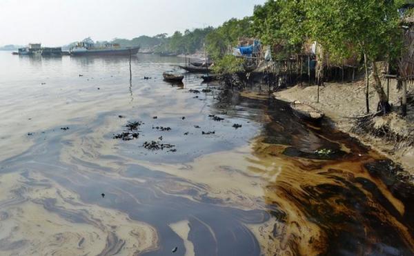 مهمترین منابع آلوده کننده دریاها و دریاچه ها