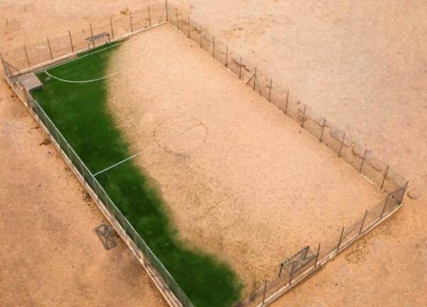 حمله فدراسیون فوتبال اردن به AFC بعد از تمسخر زمین ماسه ای