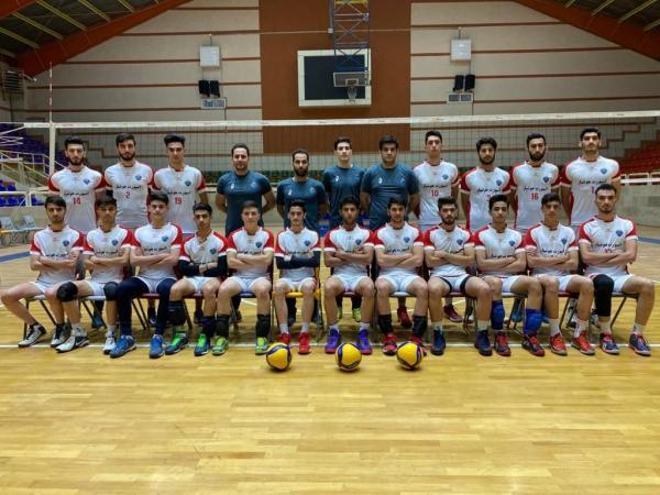 خبرنگاران نایب قهرمانی نماینده والیبال جوانان آذربایجان شرقی