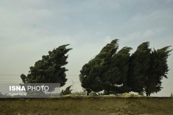 وزش باد نسبتا شدید در تهران، کیفیت هوای مرکز در محدوده قابل قبول