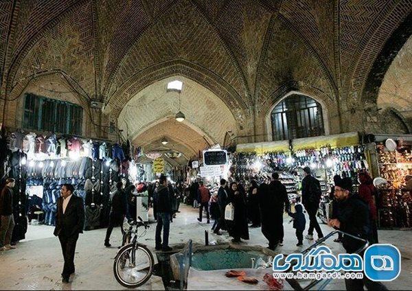 بازسازی و بازسازی گذر چهارسوق بازار تاریخی اراک آغاز شد