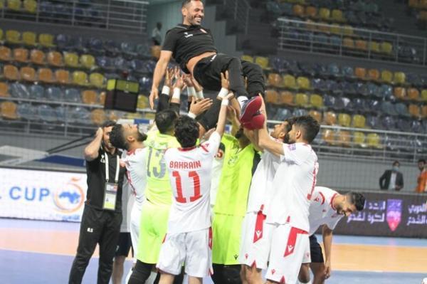 صعود تیم ملی بحرین به مرحله نیمه نهایی فوتسال کشورهای عربی