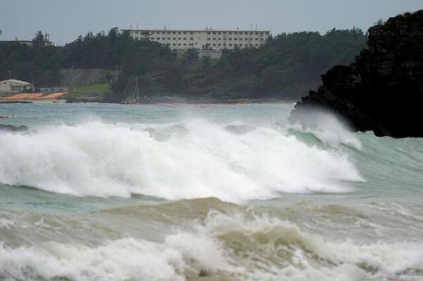 طوفان چانتو به غرب ژاپن نزدیک می گردد
