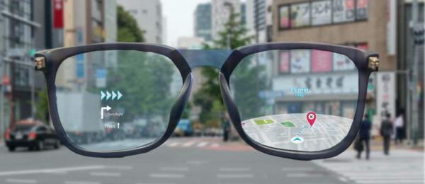 مسیریابی با عینک هوشمند شیائومی